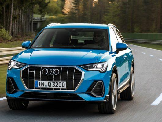 Nuova Audi Q3 2019 su strada