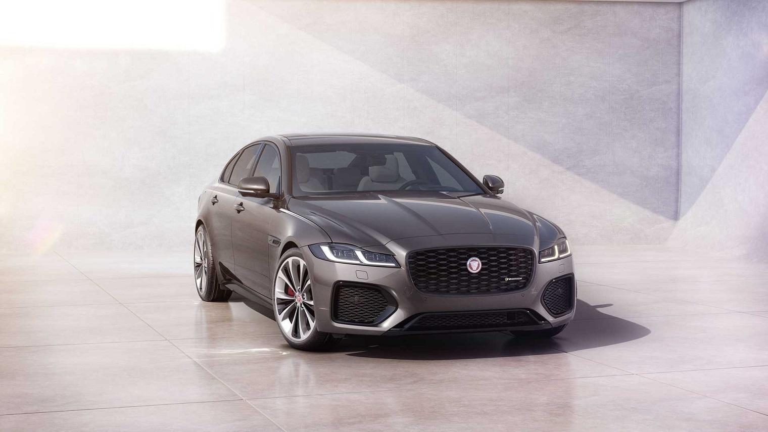 nuova Jaguar XF 2021
