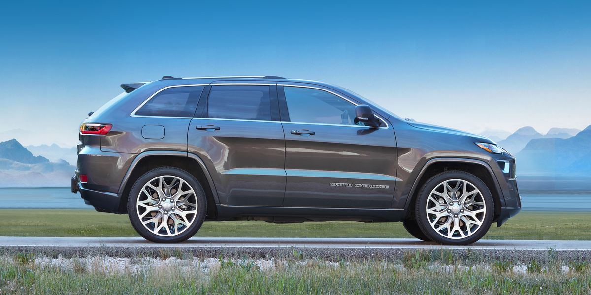 nuova Jeep Grand Cherokee rendering