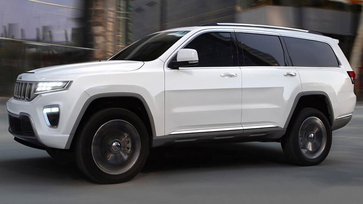 nuova Jeep Grand Wagoneer 2021