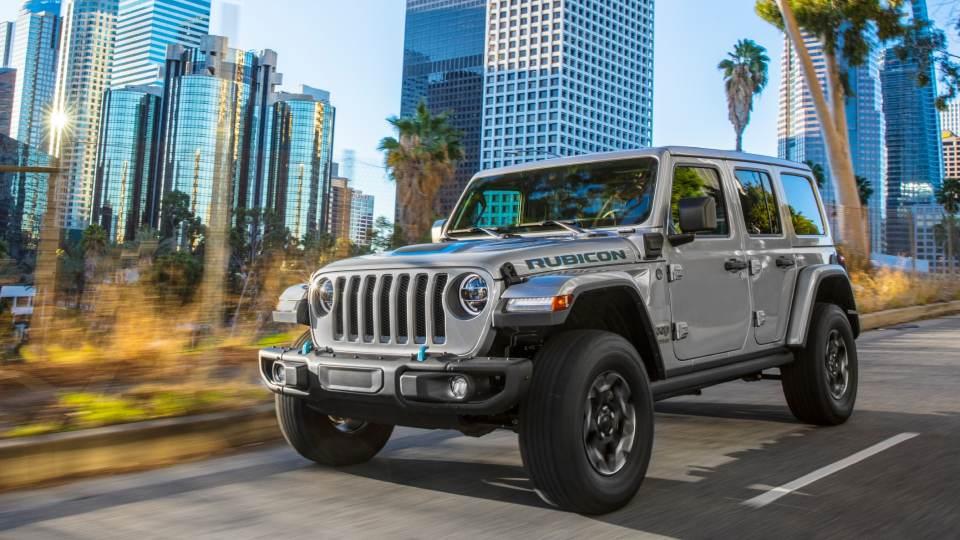 nuova Jeep Wrangler plug-in hybrid 2021