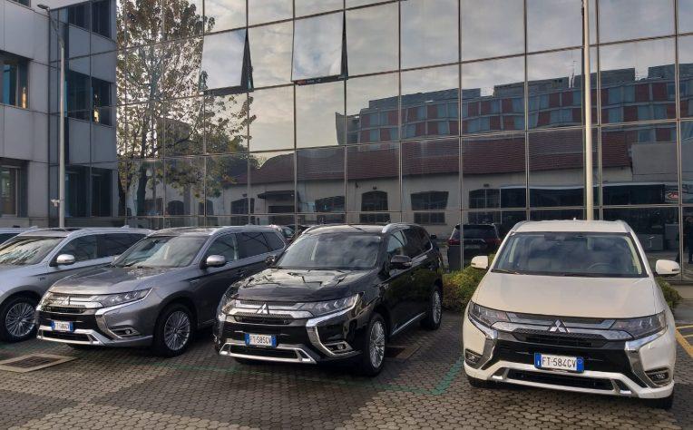 Il primo contatto con Mitsubishi Outlander Phev 2019
