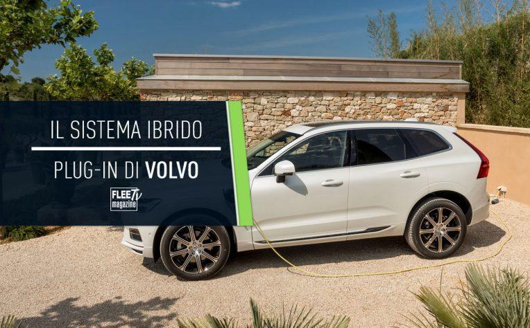 come funziona il sistema ibrido plug-in Volvo