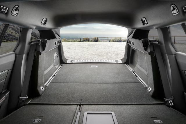 Bagagliaio di nuova Peugeot 508 SW
