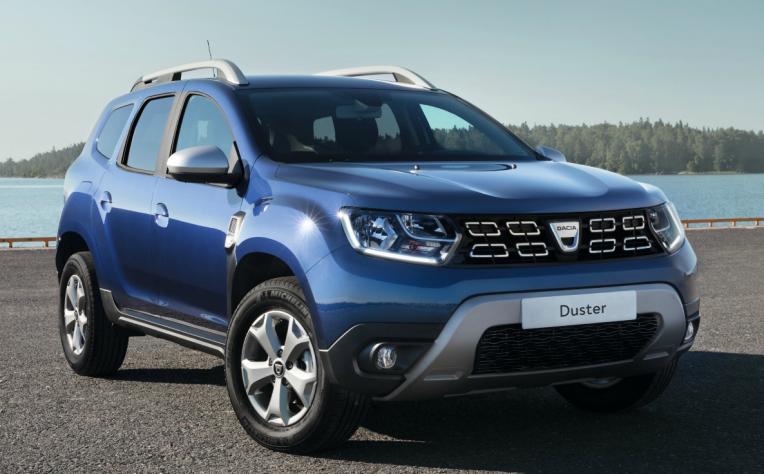 Esterni nuova Dacia Duster