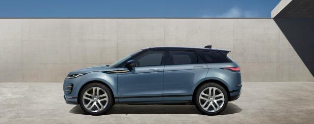 Esterni nuova Range Rover Evoque