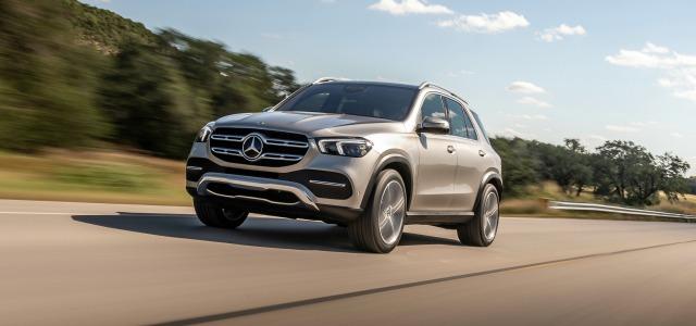 Esterni nuovo Mercedes GLE