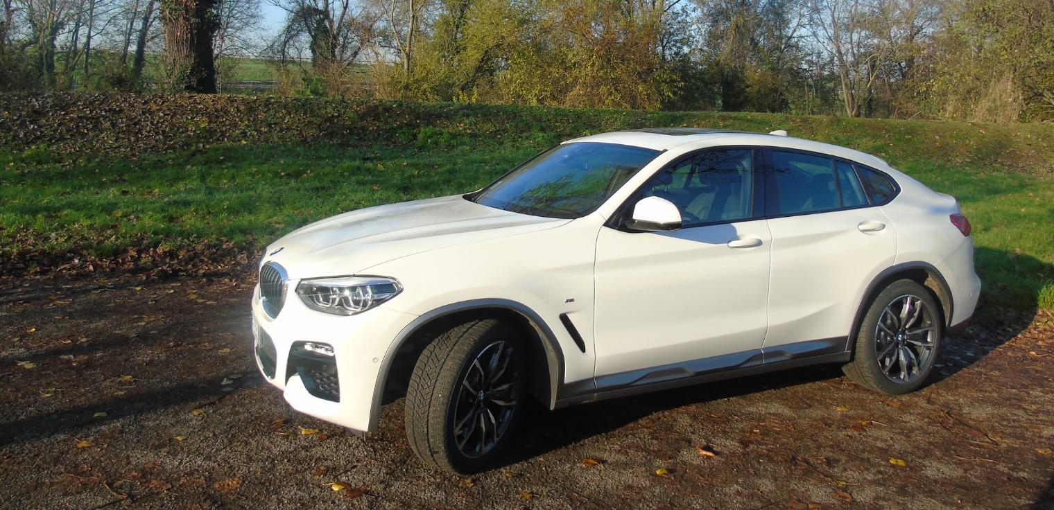 Nuova BMW X4 2019 bianca