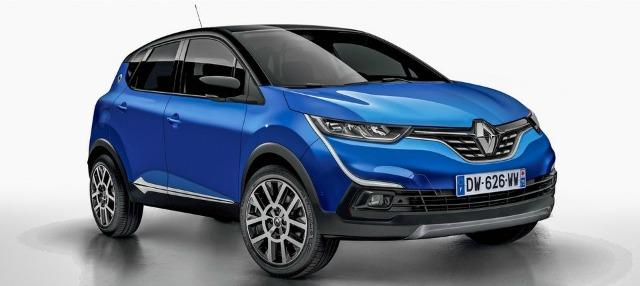 Nuova Renault Captur 2019 rendering