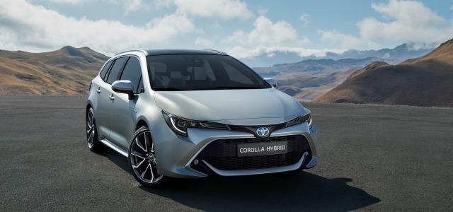 Nuova Toyota Corolla Touring Sports 2019