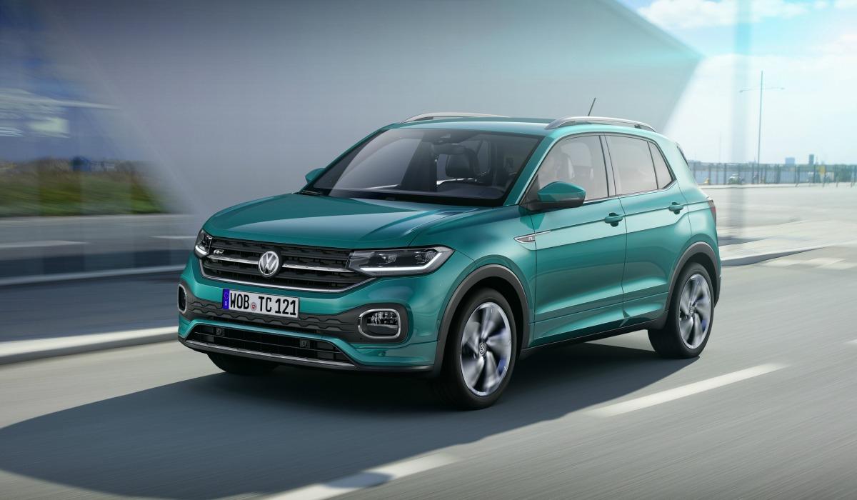 Nuova Volkswagen T-Cross 2019