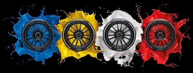 Pirelli P Zero colorate