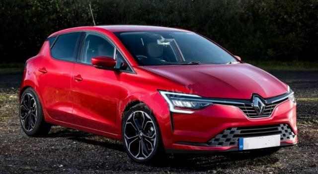 Renault Clio 2019 rendering