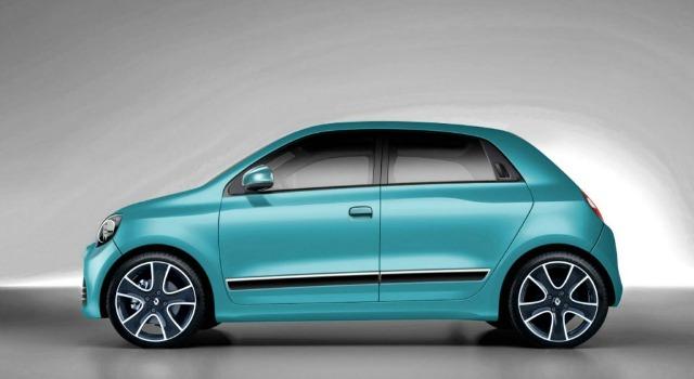 Renault Twingo 2019 rendering