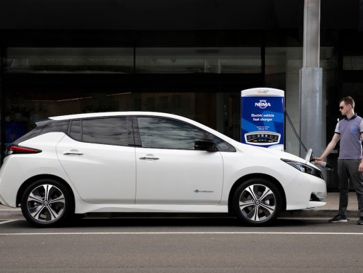 Ricarica batteria Nissan Leaf 2019