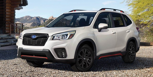 Nuova Forester