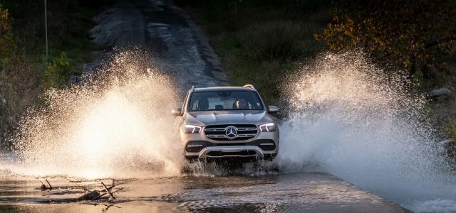 Trazione integrale nuovo Mercedes GLE 2019