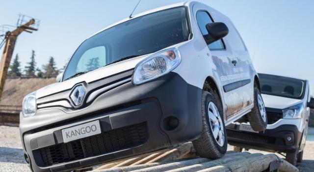 Veicoli commerciali Renault in azione