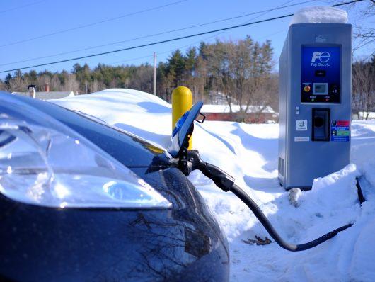 autonomia auto elettriche d'inverno