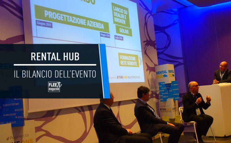 Il bilancio della prima edizione di Rental Hub