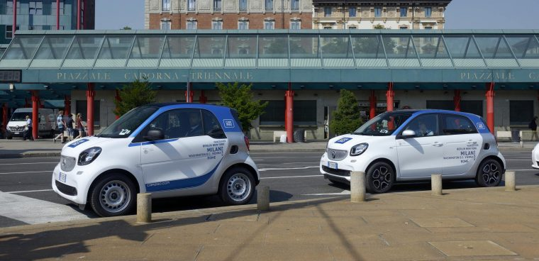 Car sharing Car2go