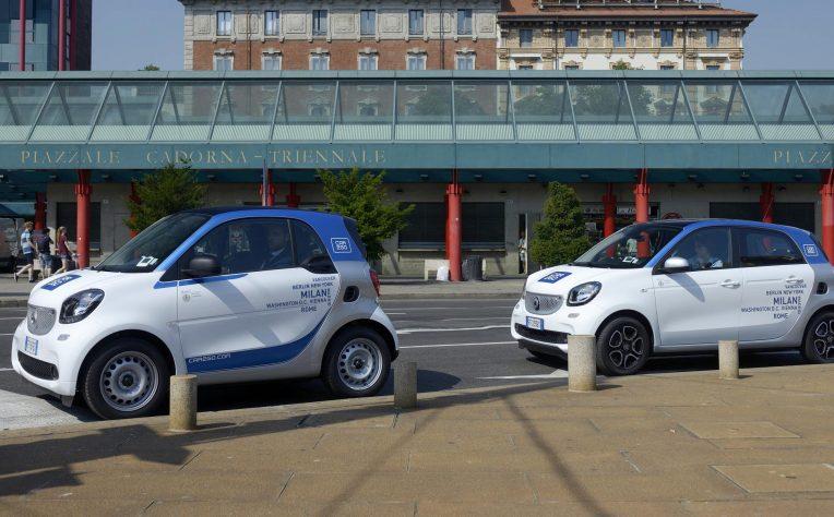 Car sharing Car2go