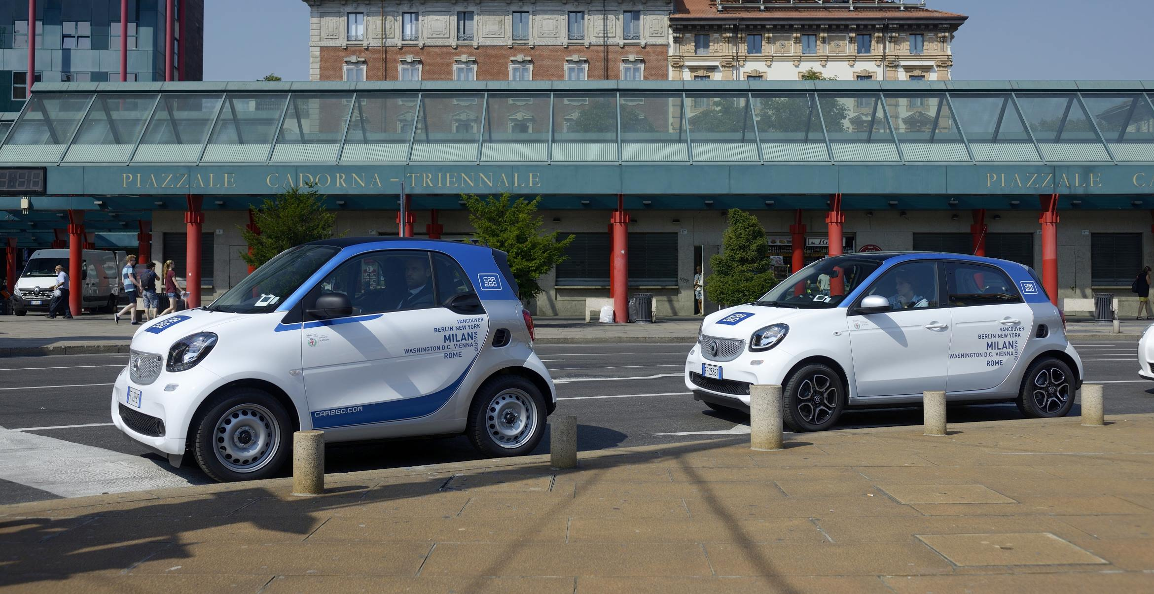 Corporate Car Sharing Car2Go