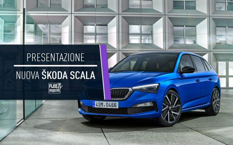 Cover presentazione Skoda Scala