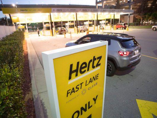 Hertz Fast Lane powered by Clear, l'autonoleggio con riconoscimento facciale