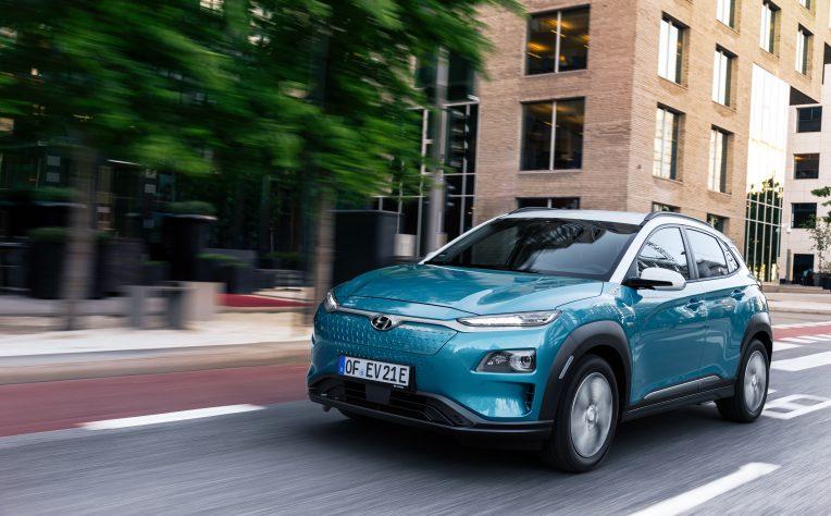 Hyundai Kona Electric: l'autonomia delle batterie secondo il ciclo WLTP