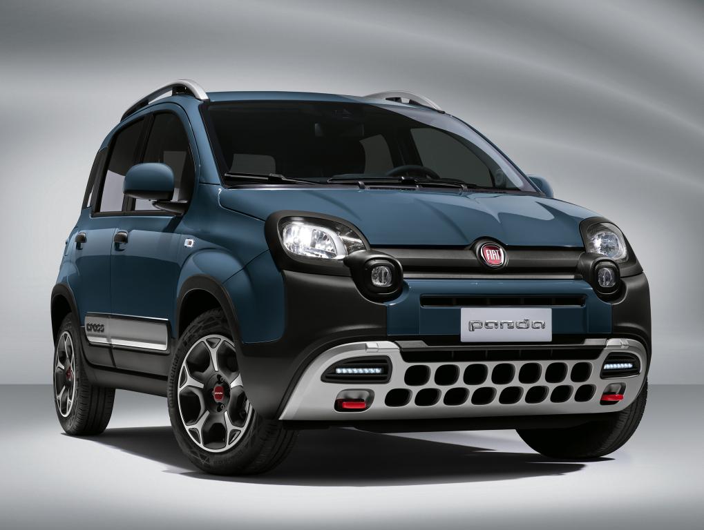nuova Fiat Panda restyling 2021