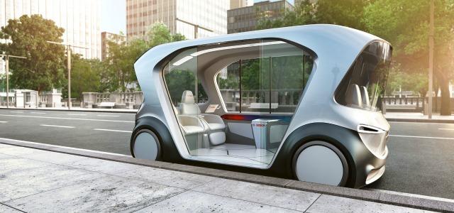 shuttle guida autonoma Bosch