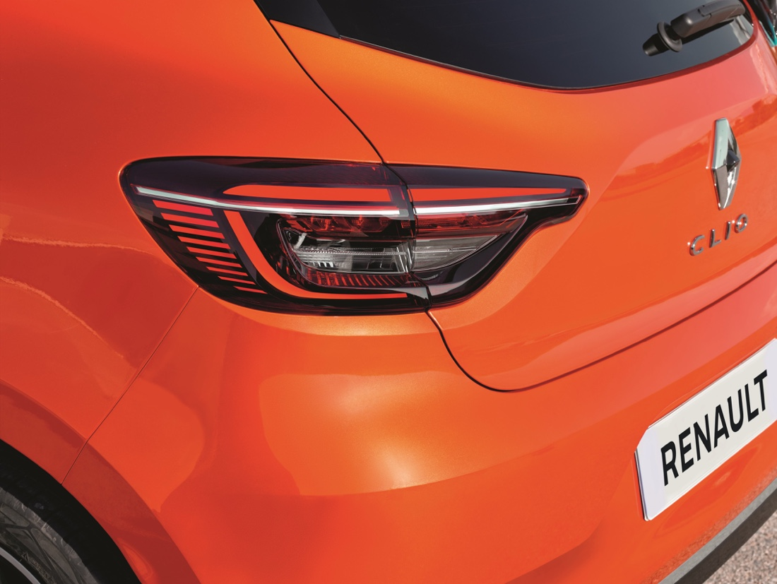 Bagagliaio di nuova Renault Clio 2019