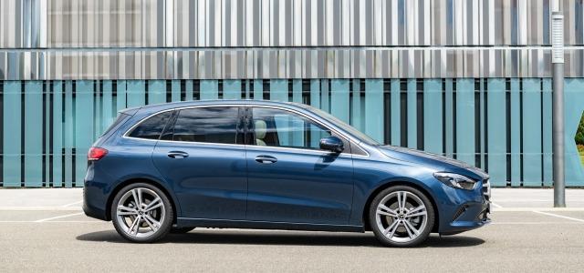 Esterni nuova Mercedes Classe B