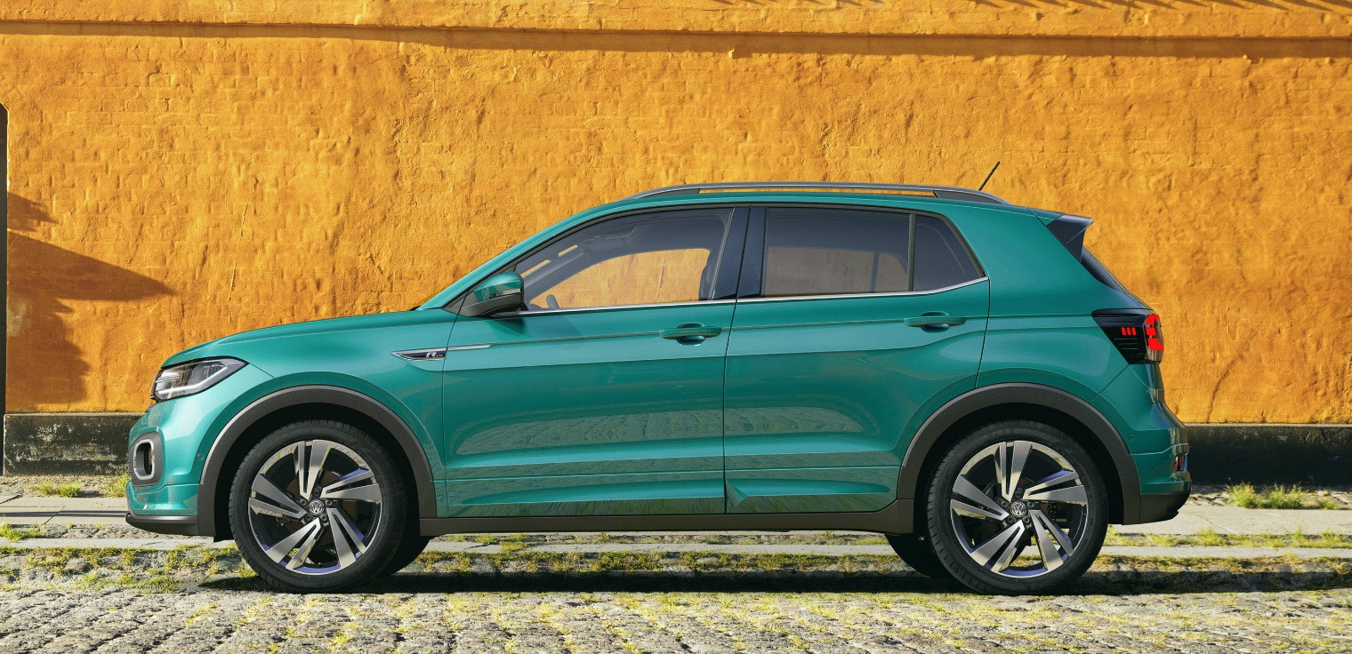 Esterni nuova Volkswagen T-Cross 2019