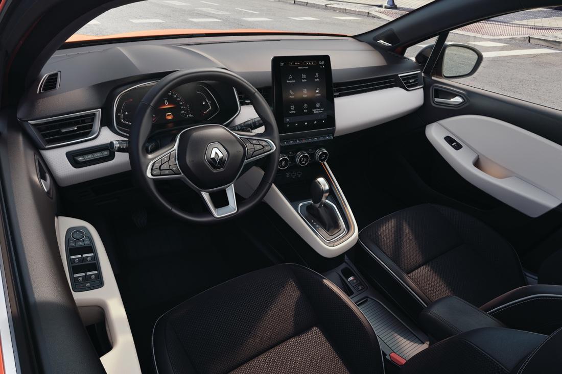 Infotainment di nuova Renault Clio 2019
