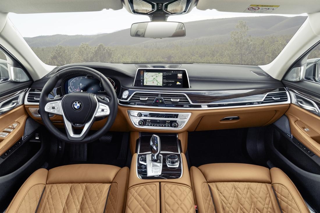 Interni di BMW Serie 7 2019