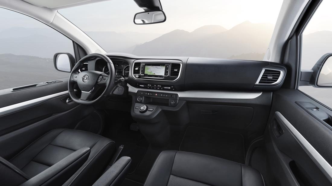 Interni di Opel Zafira Life