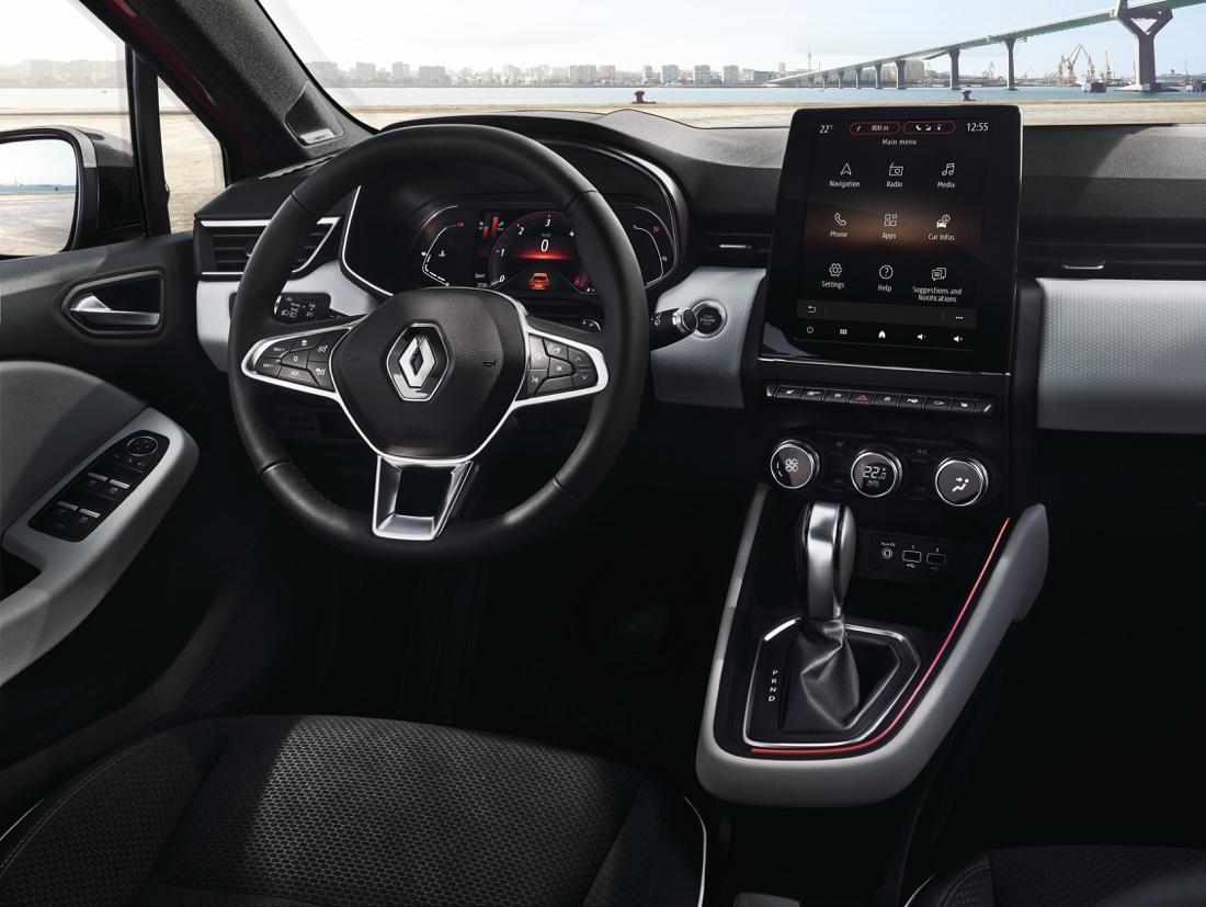 Interni di nuova Renault Clio 2019