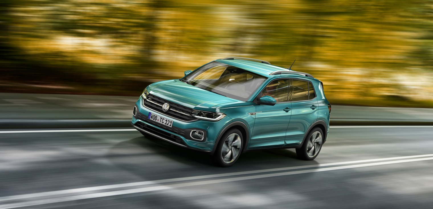 Motori nuova Volkswagen T-Cross 2019