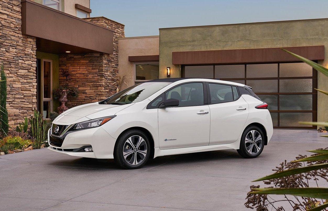 Nissan Leaf app ricarica