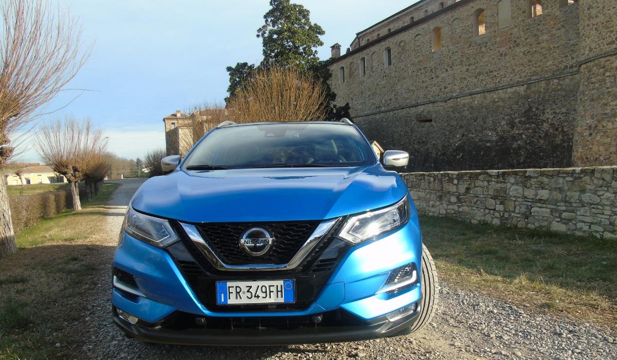 Nuovo Nissan Qashqai 2019 esterni