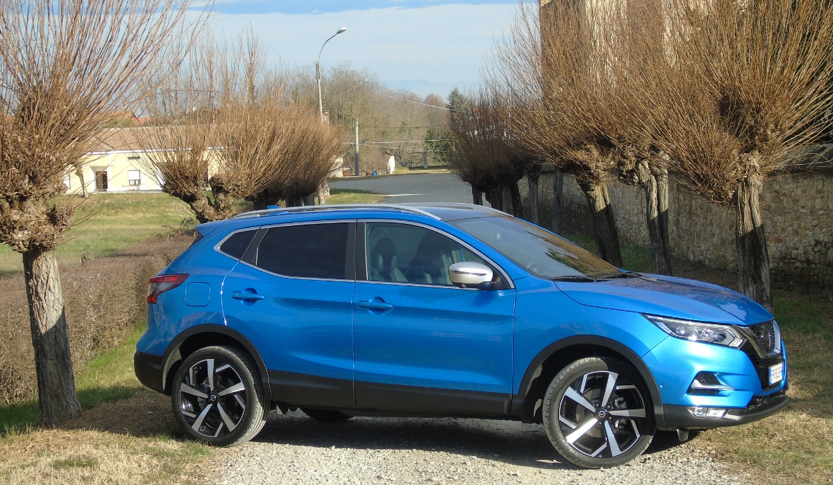 Nuovo Nissan Qashqai 2020 crossover PHOTOGALLERY