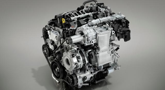 Nuovo motore Mazda Skyactiv-X benzina