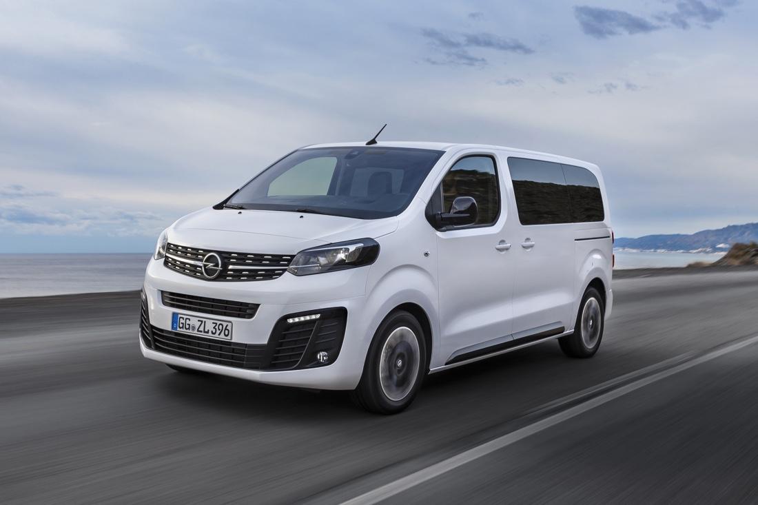 Opel Zafira Life, dimensioni