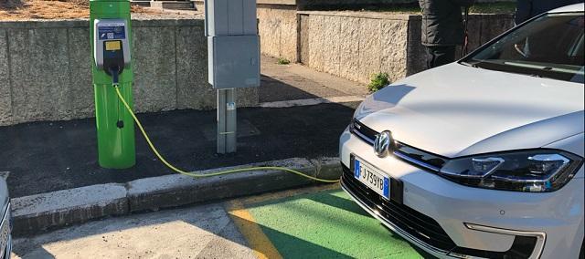 Pali ricarica auto elettrica
