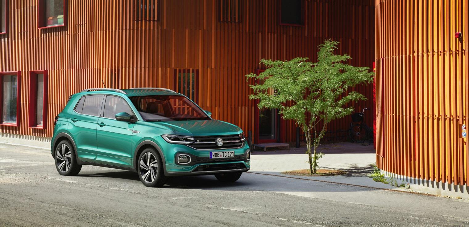 Sicurezza nuova Volkswagen T-Cross 2019