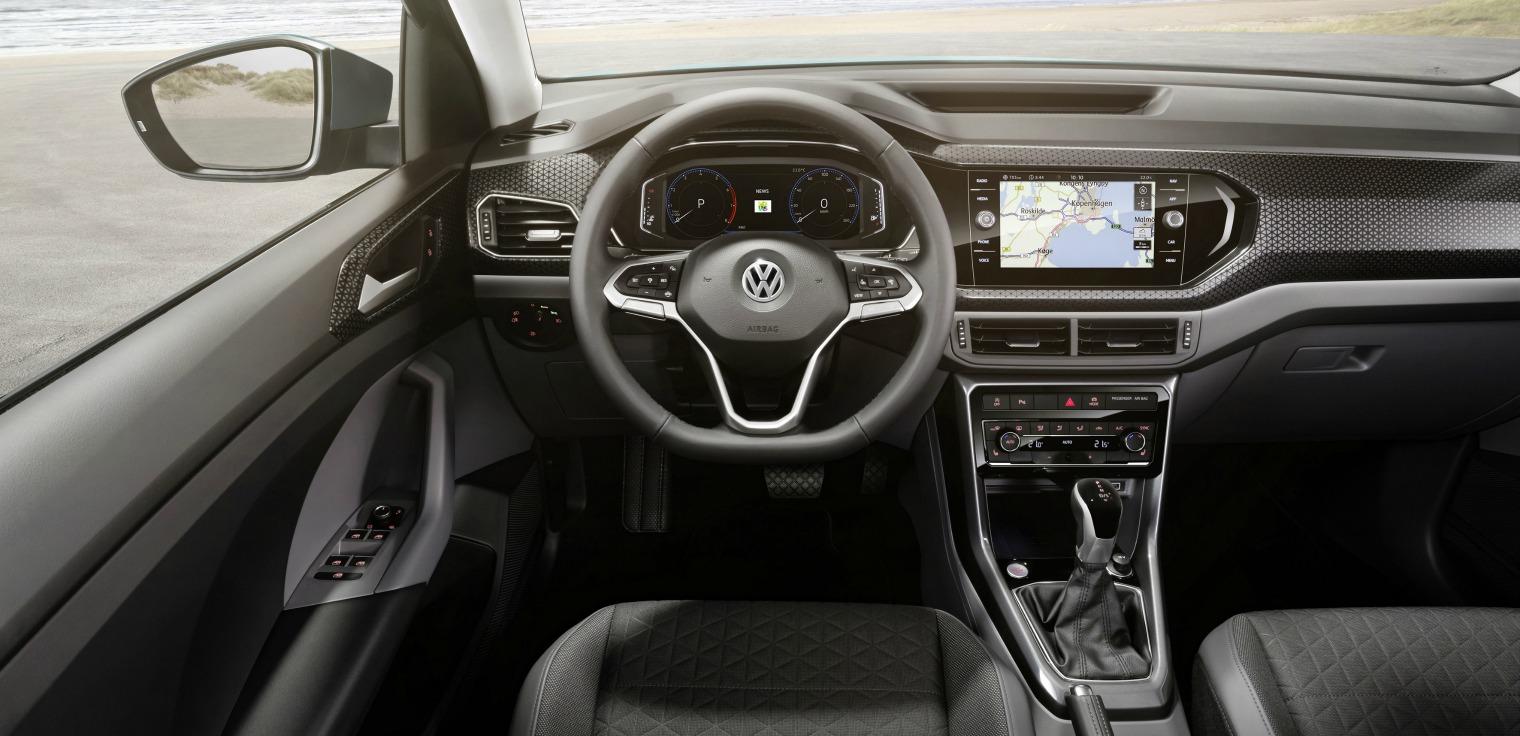 Tecnologia nuova Volkswagen T-Cross 2019