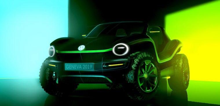 Volkswagen buggy elettrico concept 2019