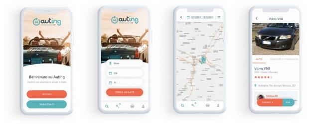 App Auting: il car sharing tra privati